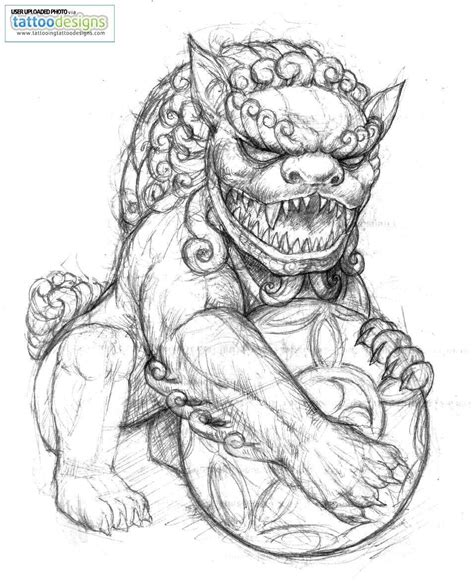 komainu tattoo design tattoos and designs page 124