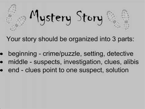 themes for a mystery story mystery story lawfield learning network