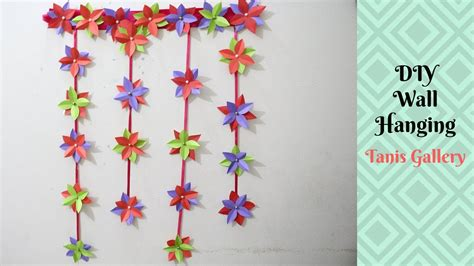 make wall decorations at home diy wall hanging home decoration idea how to make diy room decor using paper tanis