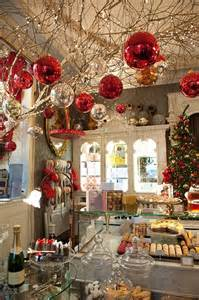 ornaments hanging from ceiling branches pinterest