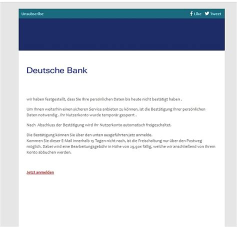 deutsche bank spam deutsche bank deutschebank support customs gov mn
