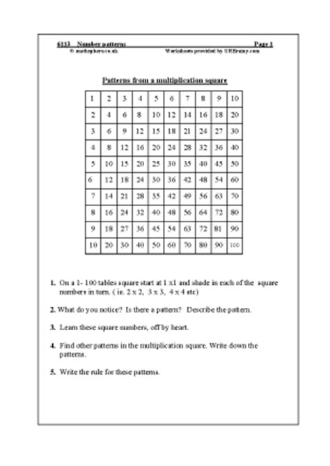 pattern worksheet ks2 pattern worksheets 187 pattern worksheets ks2 preschool