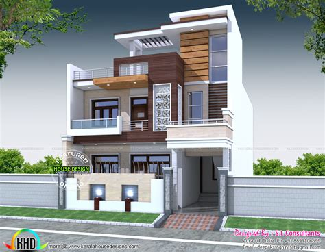 decorative 5 bedroom house architecture kerala home
