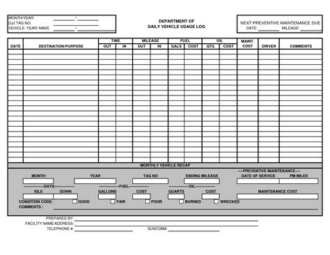 Vehicle Maintenance Log Template Excel Http Www Lonewolf Software Com Automotive 20wolf Vehicle Maintenance Log Excel Template