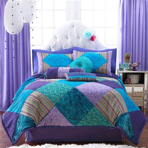 turquoise and purple bedroom home dzine bedrooms gorgeous duvets and bedding for
