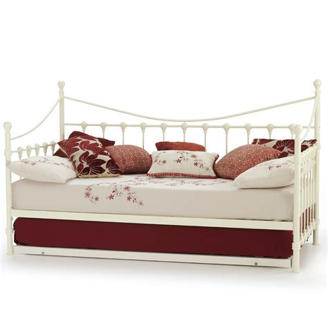 Mattress Stores In Florence Sc by Serene Florence Ivory Gloss Day Bed W Guest Bed
