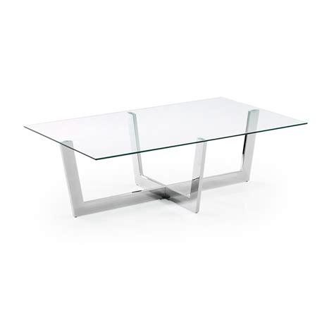 lade da salotto moderne tavolino da salotto moderno in vetro trasparente aina