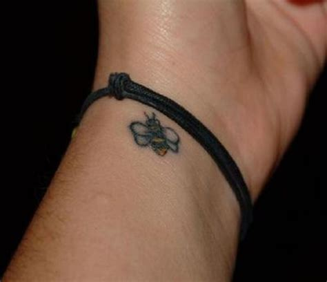 bee tattoo on wrist tattoos book 65 000 tattoos designs