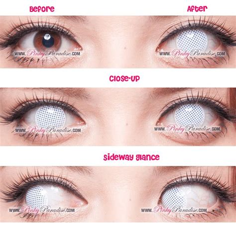 colored contacts no prescription 25 best ideas about white contact lenses on