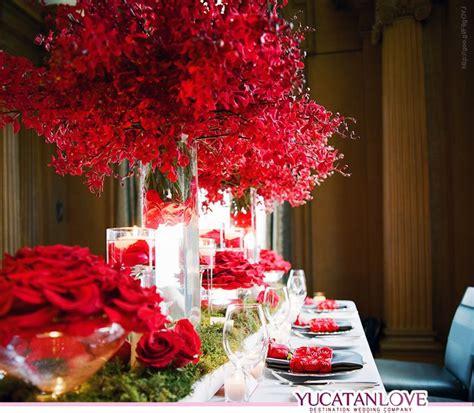 alquiler de decoracion para bodas m 225 s de 25 ideas fant 225 sticas sobre boda rojo intenso en