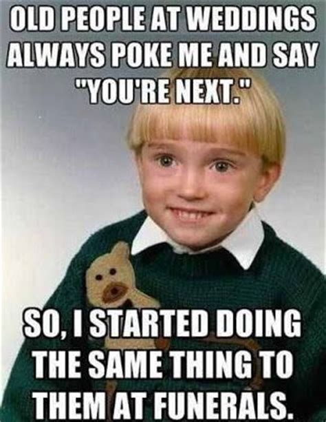 Cute Kid Meme - cute guy meme old people at weddings kid the things i