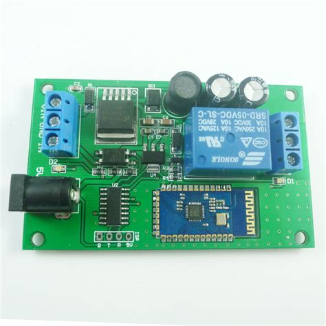 Relay Lu Mobil Mx 12v 2 4g Bluetooth Relay Android Mobile Remote For