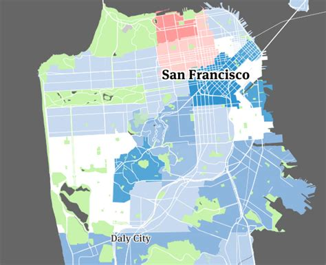 san francisco map castro the sf bay area where the streets are paved with single