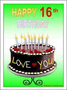 happy 16th birthday quotes for boys quotesgram
