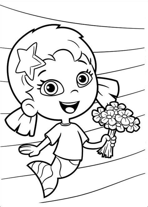 bubble guppies coloring pages nick jr bubble guppies nick jr coloring pages