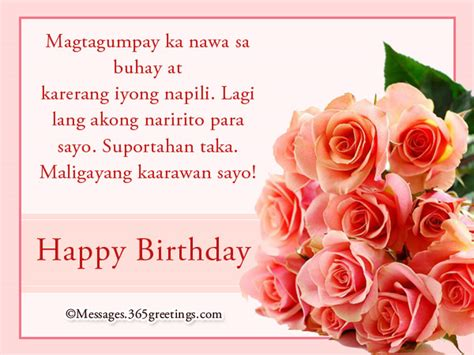 thank you letter for taglish happy birthday in tagalog 365greetings
