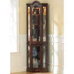 Corner Curio Cabinet By Wildon Home Caldwell Curio Cabinet