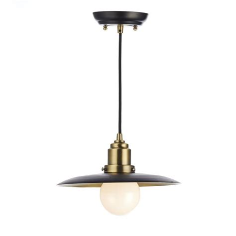 Rustic Ceiling Lights Uk Rustic Black Antique Brass Ceiling Pendant Insulated