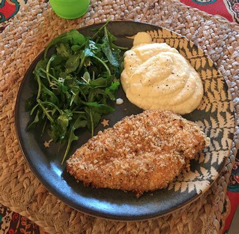 breaded crispy chicken dinner keto recipe hub