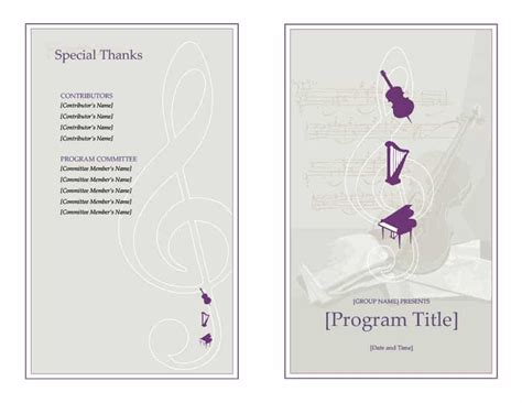 event program design templates 40 free event program templates designs template archive