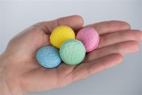 Set Of 5 Macaron Erasers macaron erasers set of 36 incentives s discovery