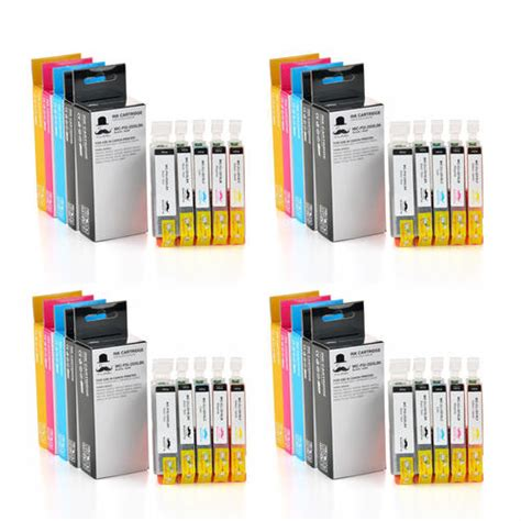 canon pgi250xl cli251xl compatible ink cartridge combo 5 colors moustache 174