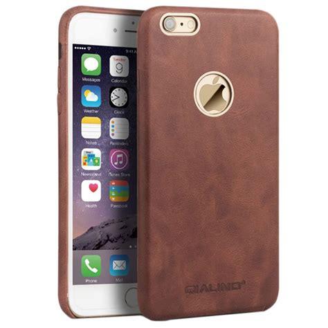 iphone     qialino slim leather coated hard case