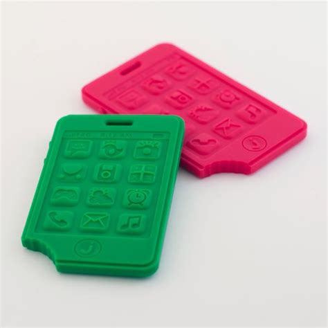 your cell phone lead phthalate latex free made of eraserrubber jellystone mobile phone teether little kisses