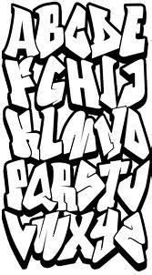 graffiti alphabet easy google search alfabeto de