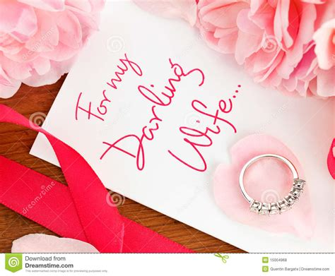 gift for wife gift for my wife royalty free stock photos image 15004968