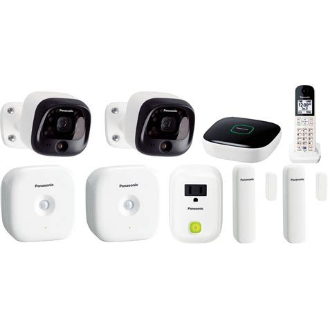 panasonic diy wireless home security bundle b h photo