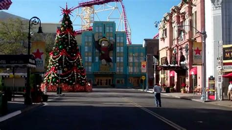 universal studios orlando christmas decorations 2011 hd