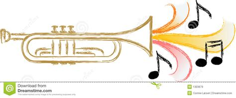 Swing Jazz Instruments Jazz Trumpet Eps Stock Vector Image Of Logos