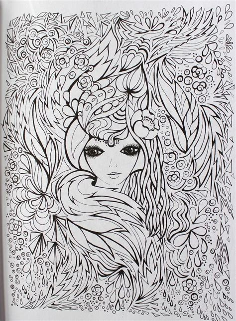 coloring pages for adults faces 9 best fanciful faces coloring for adults pages images