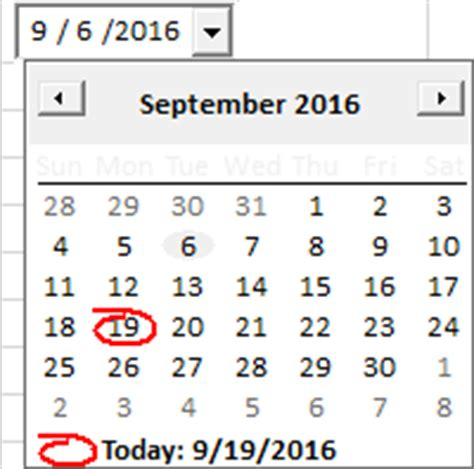 excel insert calendar cell how to insert calendar in excel date picker printable