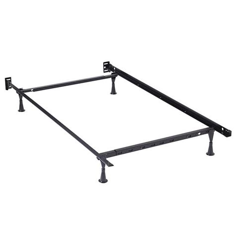 how to put together a metal bed frame twin full metal bed frame the land of nod