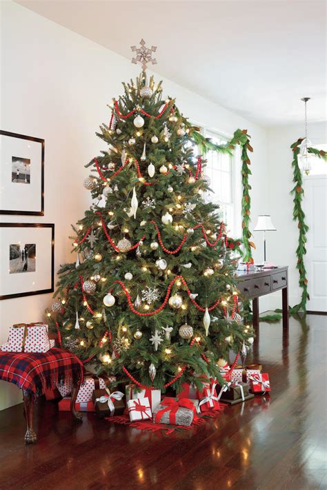 holiday living christmas gumdrop tree our favorite living rooms decorated for southern living