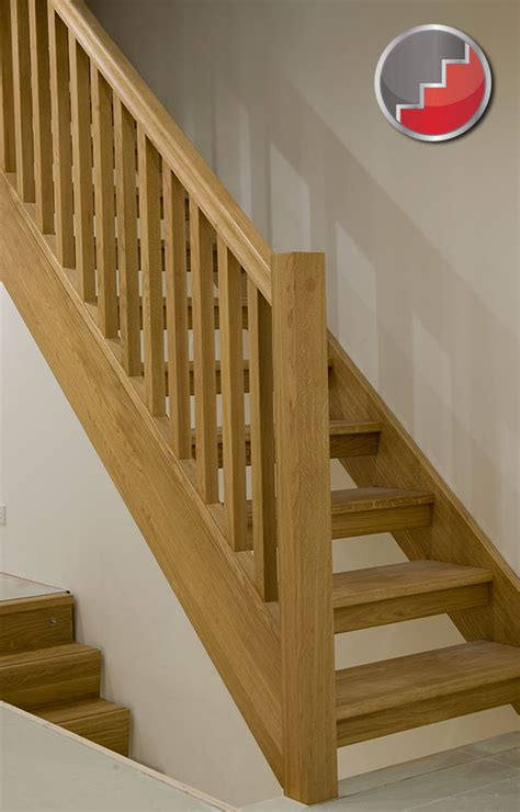 Staircase Ideas Uk Oak Staircase With Open Risers Compliant With Uk Building Regulations House Pinterest