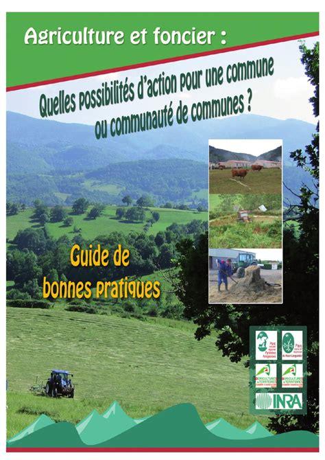 chambre agriculture 48 guide de bonnes pratiques sur le foncier agricole by