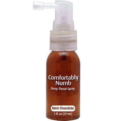 Comfortably Numb Deep Throat Spray 1 Fl Oz 29 Ml Mint