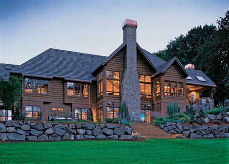 western ranch house plans western ranch rustic exterior portland by alan mascord design associates inc