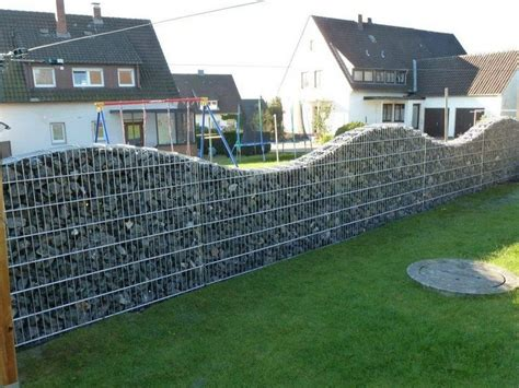 diy gabion rock walls  concrete  owner