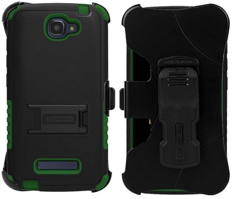 Tempered Glass Alcatel One Touch One Plus 7040 Antigores Kaca Unq rugged tri shield belt clip holster for alcaltel