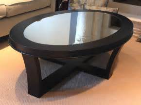 Living room : Beautiful Glass Coffee Tables Modern Design Ideas With Round Glass Coffee Table