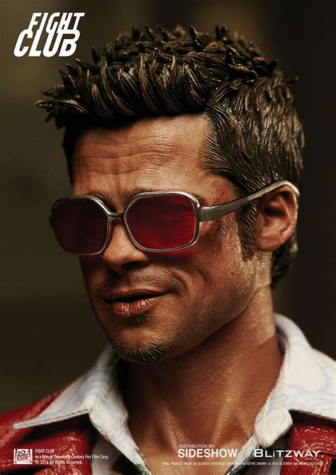 tyler durden hairstyle fight club tyler durden red jacket version sixth scale