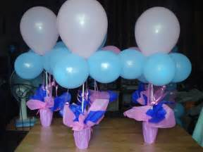 tipid simple balloon centerpiece