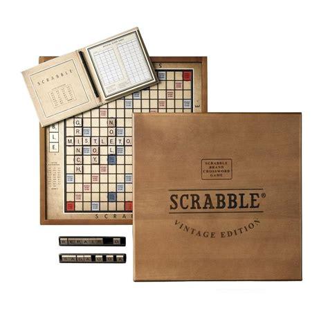 scrabble vintage scrabble vintage edition 187 gadget flow