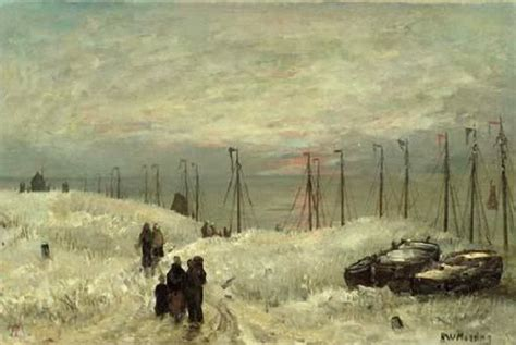 Cache Vis A Vis 1665 by 225 Best Images About H W Mesdag On