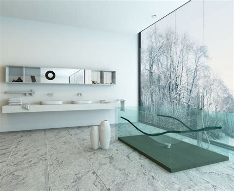 Bathroom Glass Floor Elevator Shaft Contemporary Glass Products For A Bathroom Countertops