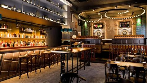 newspaper themed bar darts themed bar flight club comes to finsbury square